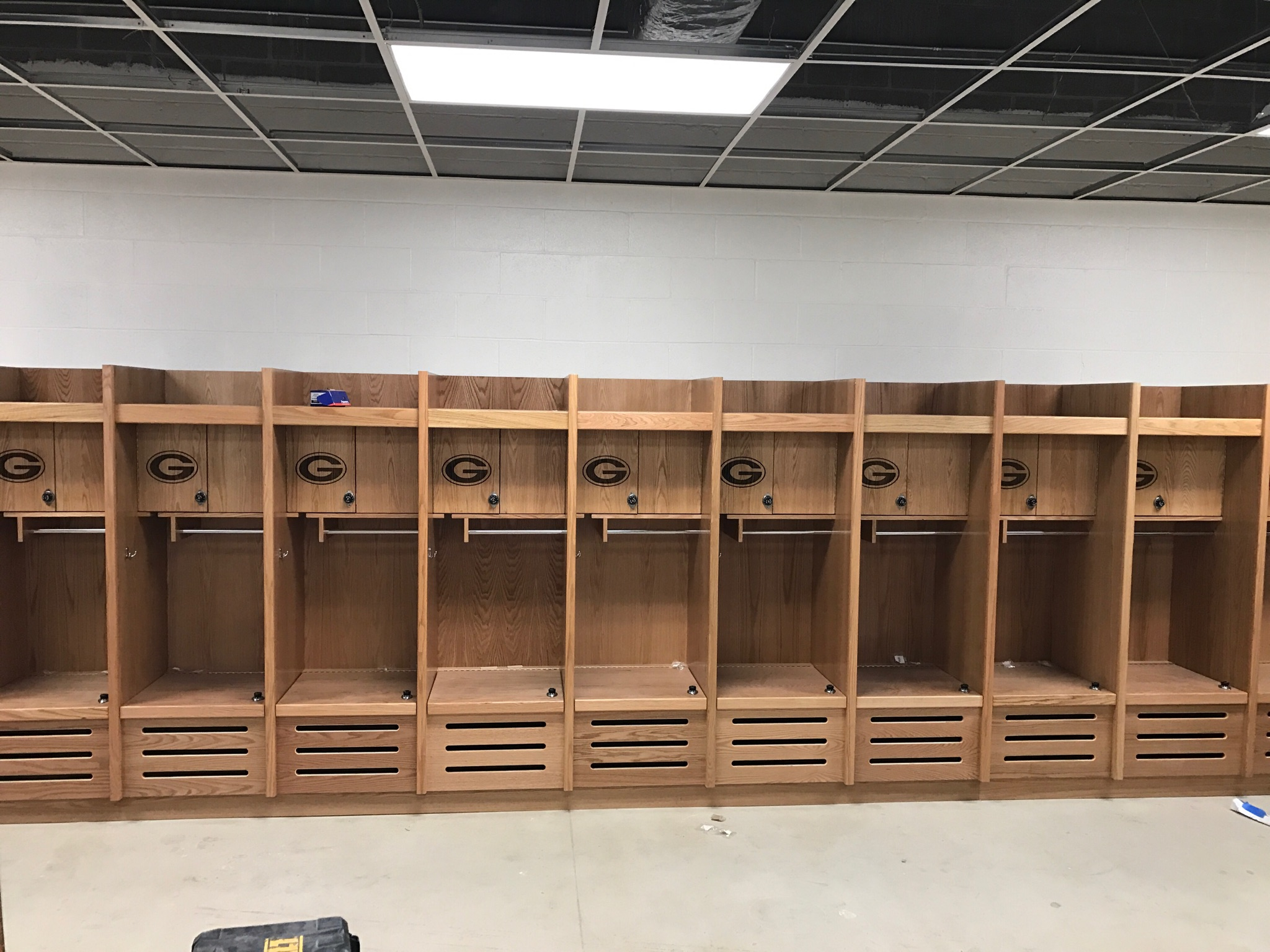 NEW VARSITY LOCKER ROOM Georgetown Eagle Baseball